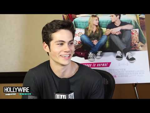 Dylan O'brien Talks Sex Scene Awkwardness - 'the First Time' video