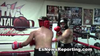 sparring at outlaws boxing club EsNews