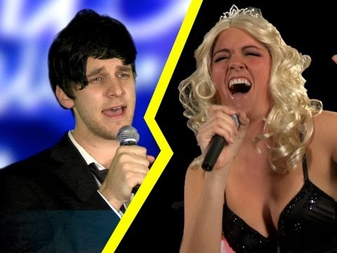 American Idol vs. The Voice! Music Videos