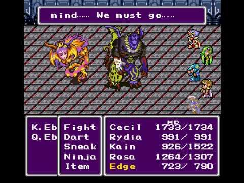 Final Fantasy II - Vizzed.com Play the end of Eblan - User video