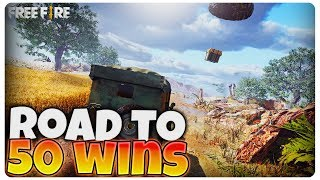 Road to 50 solo wins | Free Fire [LIVE#98]