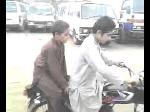 Worlds Most Funny Clip Pathan  Boys Wheely video