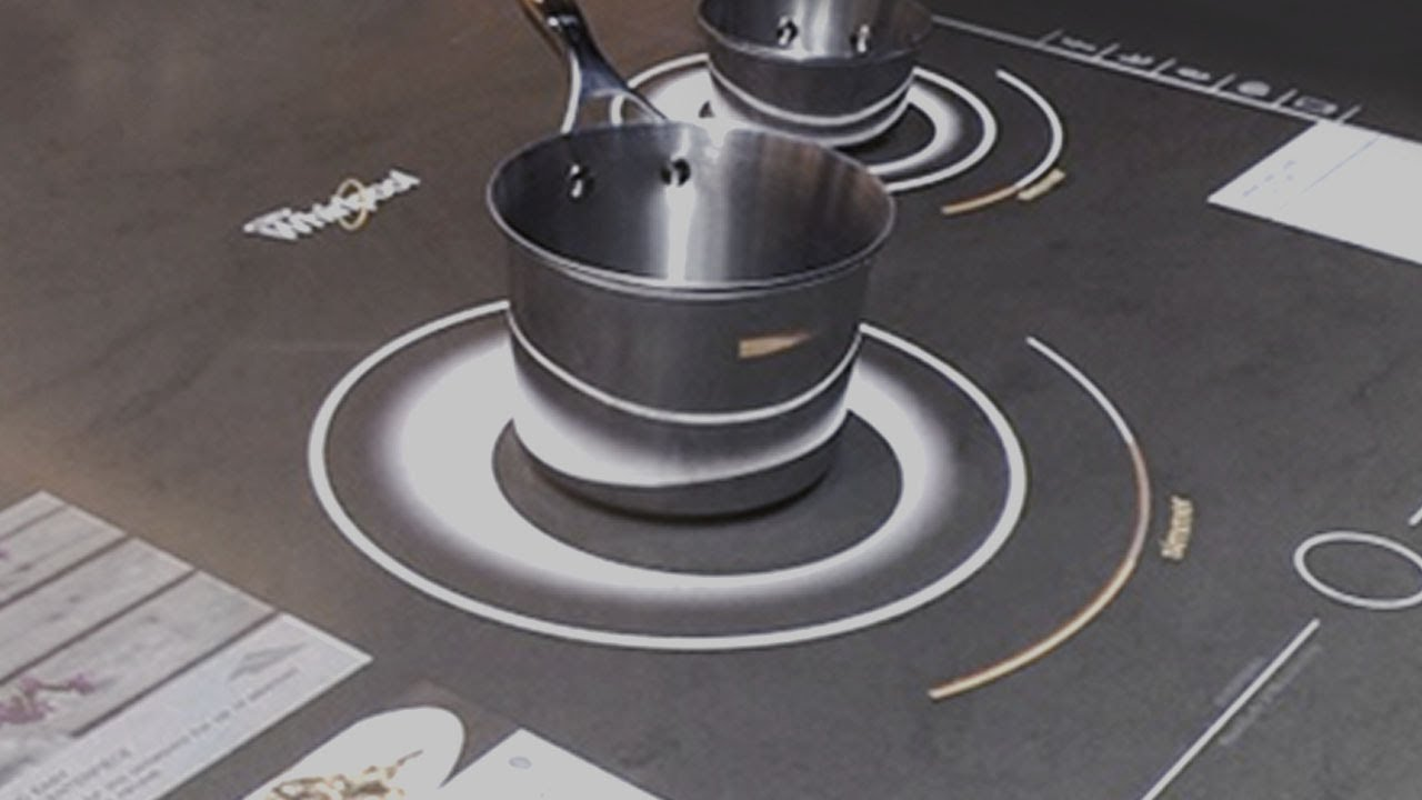 Whirlpool interactive cooktop at ces 2014 youtube - Table a induction whirlpool ...