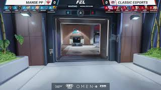 MANSE PP VS CLASSIC ESPORTS | FEL OVERWATCH CUP