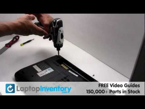 Acer Aspire Touchpad Replacement 5532 | Laptop Notebook Palmrest Installation Guide