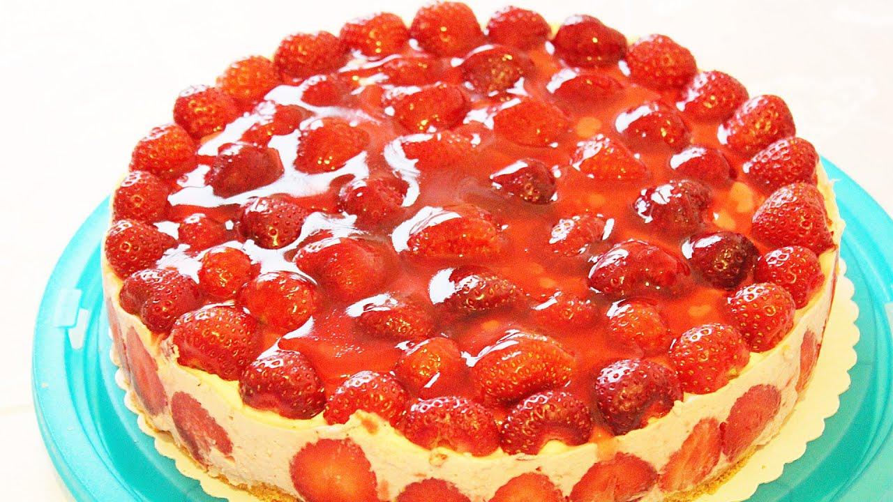 Фото рецепт клубничный торт