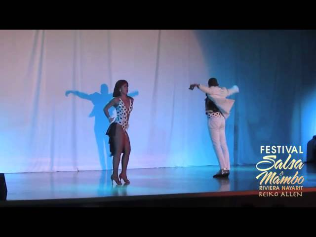 Juan Matos & Amneris Martinez - Sunday/Domingo   Riviera Nayarit Salsa & Mambo Festival 2013