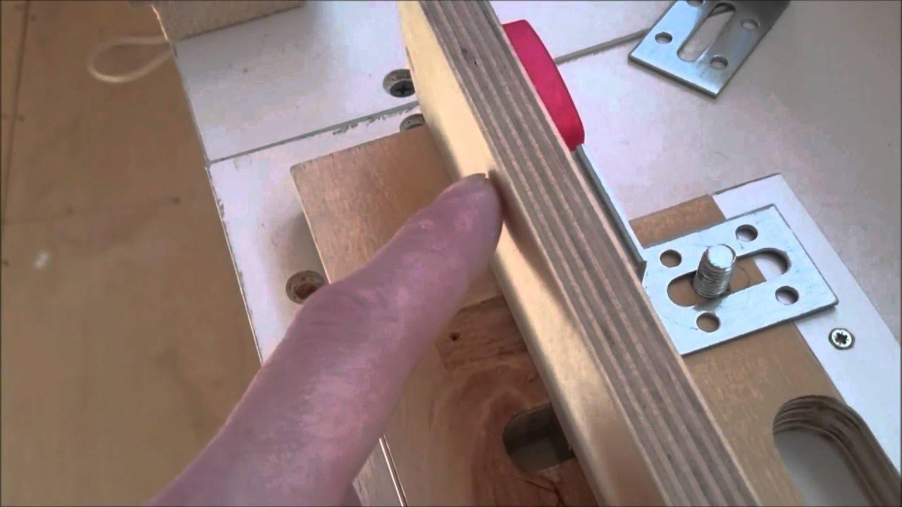 Шаблон для врезки петель фрезером чертежи