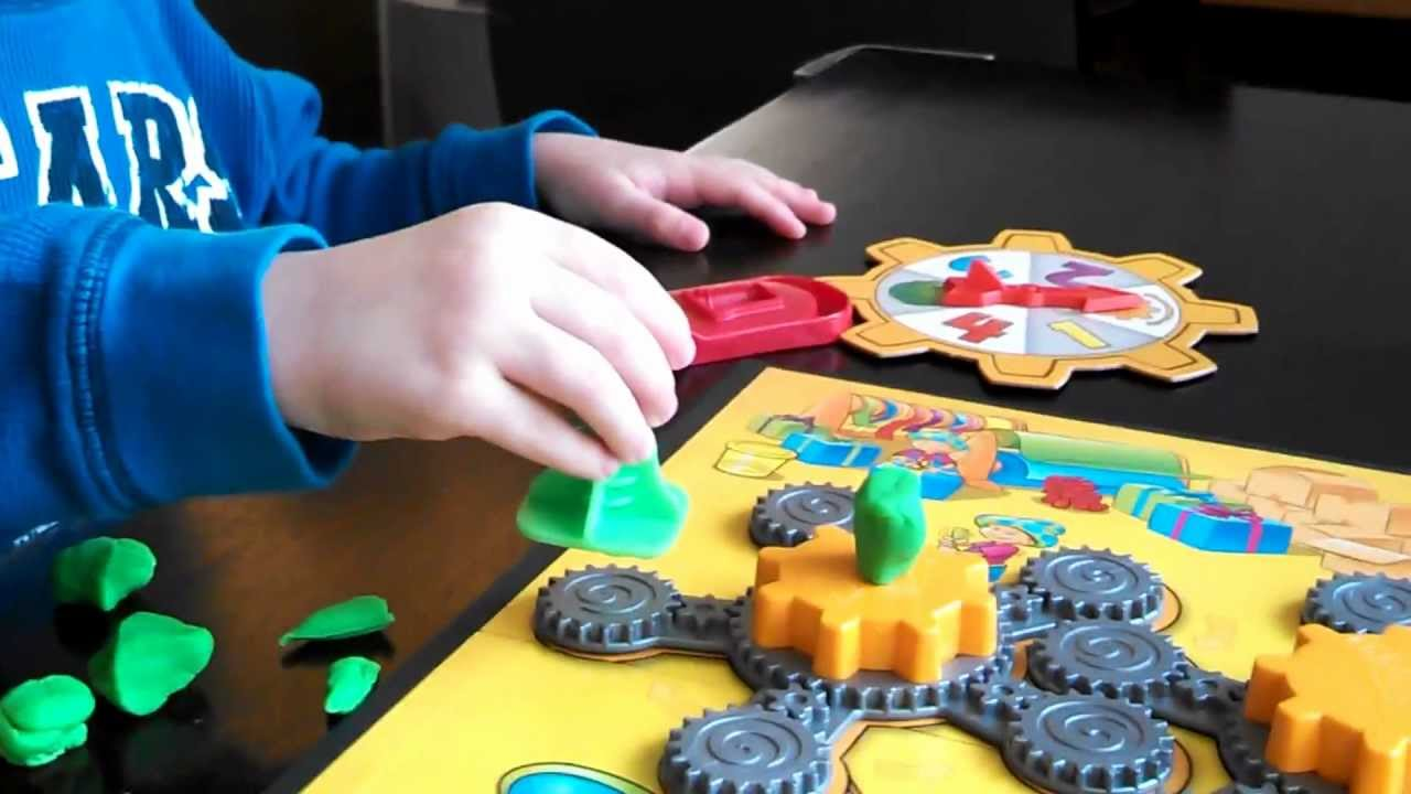 Board Game With Play Doh Game The Play-doh Game