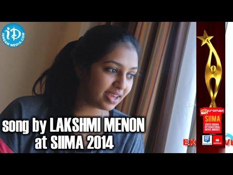 Lakshmi Menon Singing Kukkuru Kukkuru Song @ SIIMA 2014, Malaysia