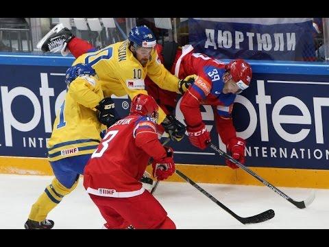 Хоккей: Россия - Швеция 4:1 Обзор матча & Все голы / Чемпионат Мира / 17.05.2016