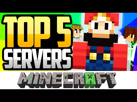 TOP 5 MEJORES SERVERS DE MINECRAFT 1.8 NO PREMIUM - 2015