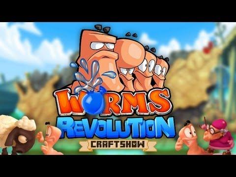 Worms Revolution: матч #1 c Рамоном, Ричем и Тюной (запись со стрима)