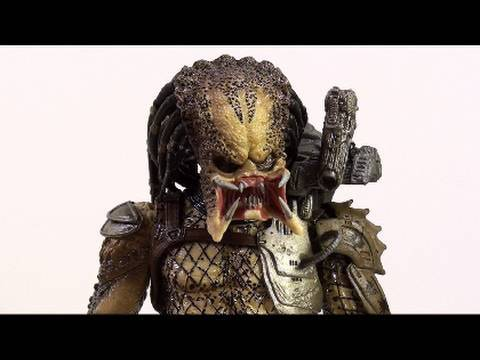 Video Review of the NECA Predators; Classic Predator