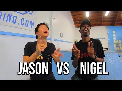 JASON VS NIGEL - MINIRAMP GAME OF SKATE