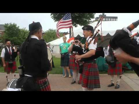 Kalamazoo residents celebrate Irish culture at downtown festival