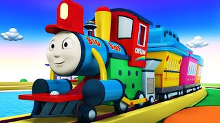Big Thomas - Trains For Kids - Thomas The Train - Toy Factory Cartoon - Videos For Children