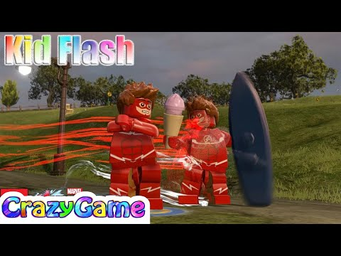 LEGO Red Kid #Flash Free Roam - #LEGO MARVEL's Avengers MOD
