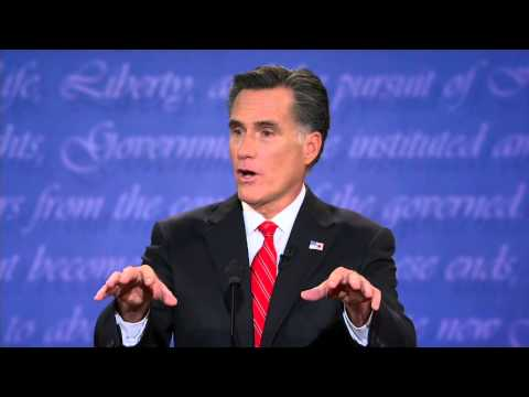 Full 2012 First U.S. Presidential Debate