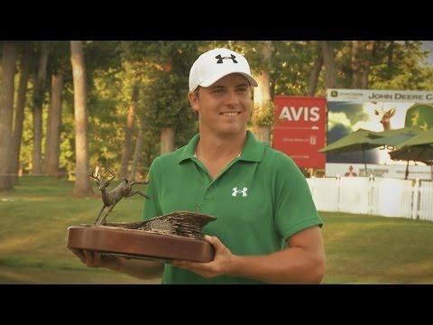 Jordan Spieth's impressive golf game