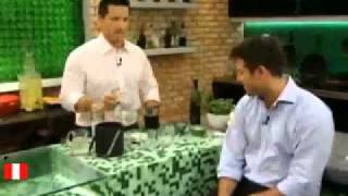 Cóctel peruano Pisco sour (tv mexico)  ★★★★★