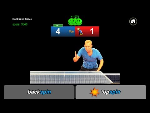 Table Tennis Edge - Returning Serve - The App
