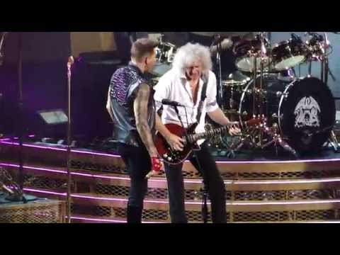 Queen + Adam Lambert Crazy Little Thing Called Love Madison Square Garden Nyc (new York) video
