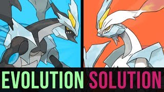 An Evolution Solution: Kyurem Black or Kyurem White?