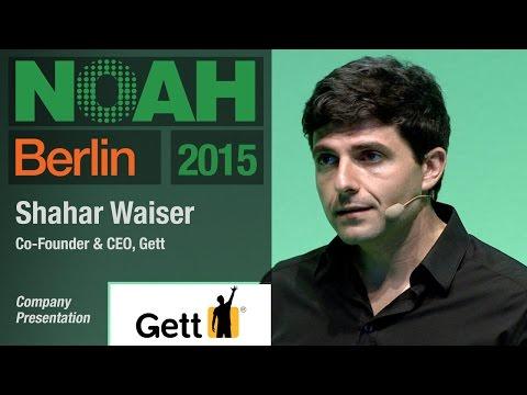 Shahar Waiser, Gett - NOAH15 Berlin