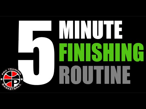 Daily 5 Minute Finishing Routine | Improve Your Touch | Pro Training Basktball