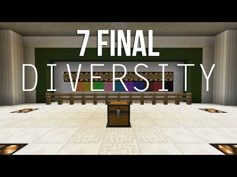 Minecraft Diversity - Episodio 7 - Survival, Puzzle Y Boss (final) video