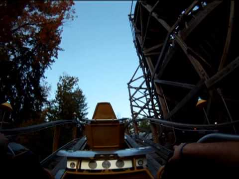 Flying Turns at Knoebels Amusement Resort POV (circa 2013)