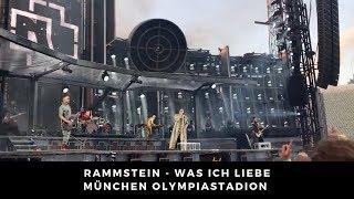 Rammstein  - Intro + Was ich liebe Live 08.06.2019 München/Munich Olympiastadion