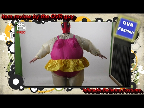 Item review - Inflatable Ballerina Costume