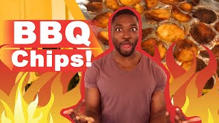 How To Make BBQ Potato Chips - Cooking With A Comedian