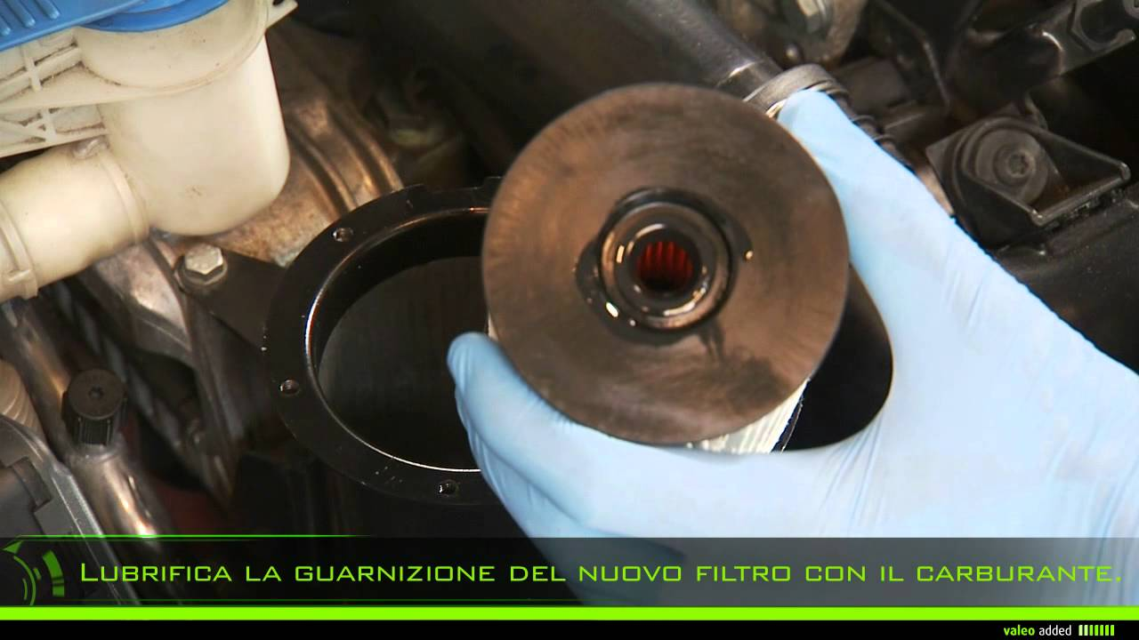 Valeo Filtro Carburante Montaggio Del Filtro Carburante Non Avvitato Youtube