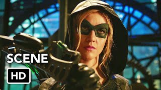"Arrow 8x09 ""Green Arrow & The Canaries"" Scene (HD)"