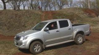 4x4. Тест Toyota Hilux.