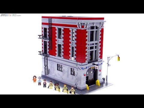 LEGO Ghostbusters Firehouse Headquarters review! 75827