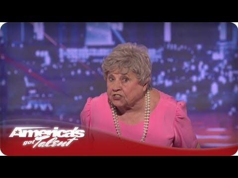 Granny G Raps About Family Values - America's Got Talent Audition Season 7 video