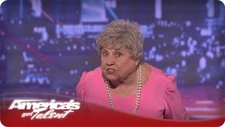 Granny G Raps About Family Values - America's Got Talent Audition Season 7