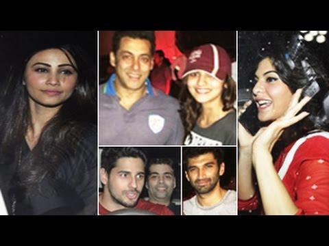 Kick Movie Screening | Salman Khan Karan Johar Alia Bhatt Siddharth...