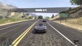 GTA 5 Online | 2 Epic Overtake | Lago Ring | Progen T20 [HD]