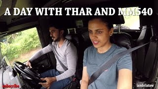 Thar and MM 540 off road jeep life 2019