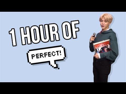 "1 Hour of Jimin Saying ""Perfect"""