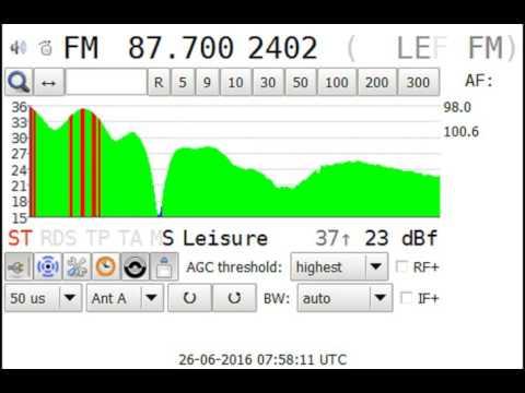 Radio Chlef, Algeria.