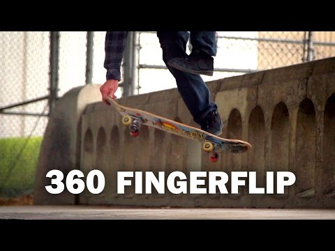 360 Fingerflip: Darryl Grogan || ShortSided