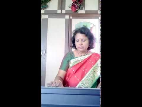 Jaya bharatha jananiya tanujate on keyboard