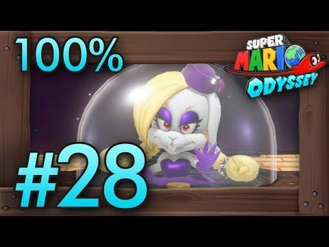 Super Mario Odyssey 100% Walkthrough Part 28   Dark Side (All Moons & Broodals Boss Rush)