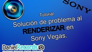 ScreenTutorial | Problema al renderizar un Vídeo en Sony Vegas